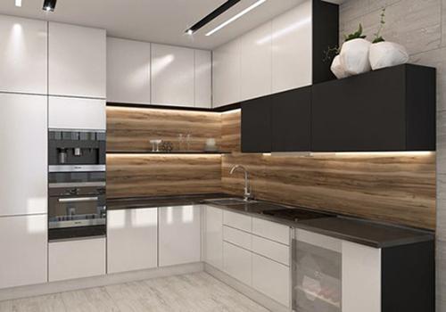 Кухня угловая в стиле минимализм