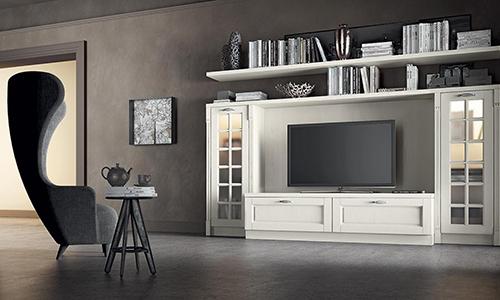 Комплект мебели для гостиной в классическом стиле